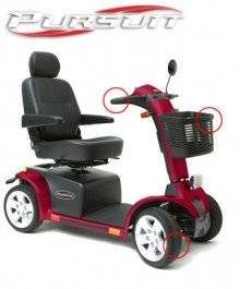 Wholesale charger: Pride Mobility Pursuit 4 Wheel Mobility Scooter
