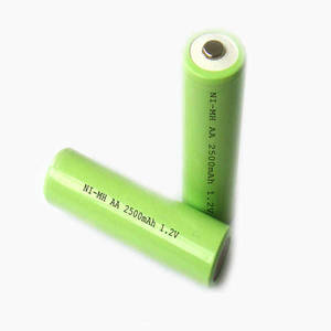 Wholesale voip telephone: 1.2V NIMH Rechargeable Battery AA 2500mah