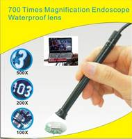 Sell Sellwaterproof USB microscope 700x zoom  Endoscope 4 led 10mm lens