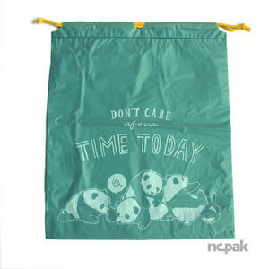 Wholesale with string: LDPE Plastic Sport Retail Bag with Strings