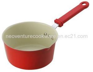 Wholesale Saucepans: Ceramic Coated Cast Iron Saucepan