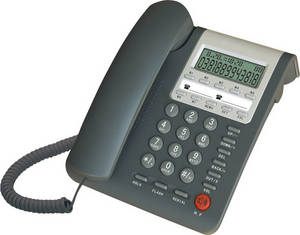 Wholesale hotel telephone: Caller ID Corded Landline Telephone with Backlight, Hands-free for Home, Office, Hotel, Hospital.
