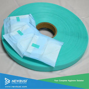 Wholesale printing material: Hot Sale Eco-friendly Printed PP Frontal Tape for Baby Diaper Raw Material
