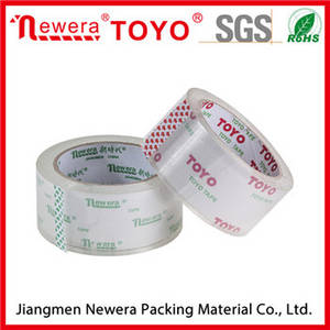 Wholesale stationery: High Quality Bopp Box Packing Crystal Clear Tape for Office Stationery