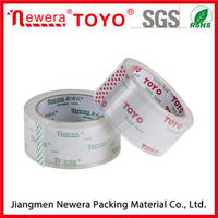 High Quality Bopp Box Packing Crystal Clear Tape for Office Stationery