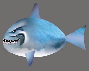 Air swimmer rc flying fish balloon id 5744684 product for Flying fish balloon