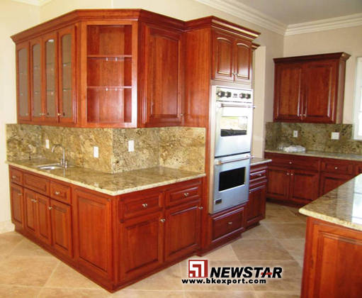 granite kitchen countertops cherry cabinets home christmas decoration. Black Bedroom Furniture Sets. Home Design Ideas