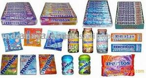 Wholesale candy: Perfetti Van Melle & Mentos Candy - Chewy Candy - Dragee Candy