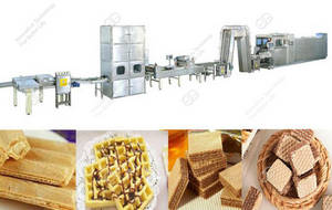 Wholesale wafer biscuit: 2016 Hot Sale Wafer Biscuit Production Line