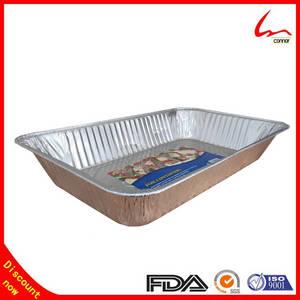 Wholesale Foil Containers: Full Size Aluminium Foil Pan