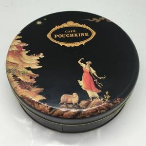 Wholesale candy box: Chocolate/Candy/Biscuit Food Packages Tin Box Round Cans/Round Tin Cases