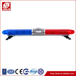 Wholesale police car: Red/Blue/Yellow LED Flashing Police Car Roof Top Warning Light