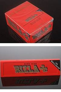 Wholesale Lighters & Smoking Accessories: Cigarette King Size Rolling Papers (Rizla Rolling Papers)