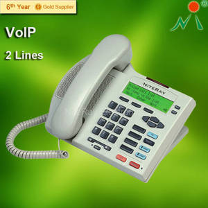 Wholesale home voip phone: Caller ID Home Corded Telephone NiteRay Q710