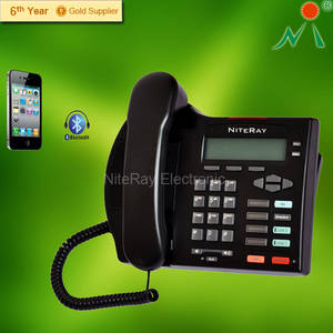 Wholesale analog conference phone: Office Telephone Corded Conference Telephone 3 Party Conference Phone