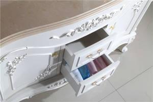Wholesale bathroom: OEM Wooden Waterproof Bathroom Vanity Cabinet