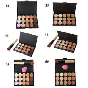 Wholesale sets: Professional Makeup Concealer Palette Contour Cream 15 Colors Makeup Set