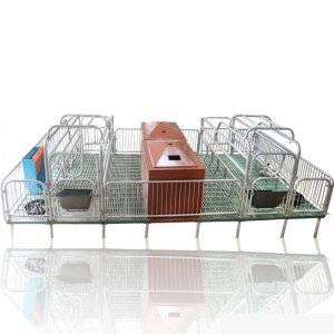 Wholesale pig pen: Galvanized Pig Fence Farrowing Crate Stall Fence for Sale