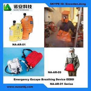 Wholesale military gas mask: Self Contained Breathing Apparatus SCBA+Emergency Escape Breathing Device EEBD+Emergency Escape Brea
