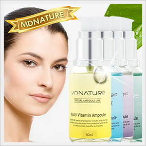 Wholesale whitening effect: [MDNATURE] Special Ampoule Series for Whitening Effect Anti-aging Effect Moisturizing Pore and Acne