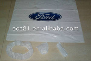 Wholesale auto cleaning strainer: Made in China Plastic Seat Cover