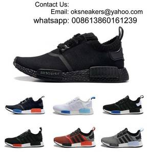 Wholesale fashion shoes: 2016 NMD Runner Primeknit Men'S Running Shoes Fashion NMD Women Running Sneakers