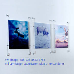 Wholesale Other Advertising Equipment: Wire Suspension Poster Display System