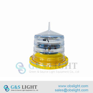Wholesale marine communication: Low Intensity Solar Powered Obstruction Light