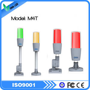Wholesale flash light: Multicolor LED Signal Tower Light with Red Flashing and Buzzer