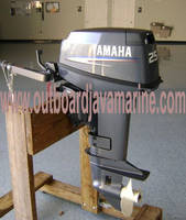 Sell YAMAHA OUTBOARD MOTOR 25 HP 2 STROKE 25MSH TILLER NEW