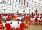 Wholesale outdoor tents for parties: Portable PVC Outdoor Tents For Parties 20m *50m Waterproof UV - Resistant