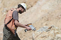 Hand-held XRF Analyzer for Mining
