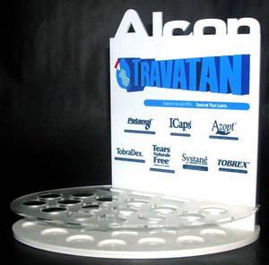 Wholesale acrylic cosmetics display rack: Factory Customized Clear Acrylic Cosmetic Display Rack