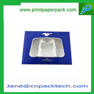 Wholesale custom cosmetic boxes: Custom Cosmetic Box Perfume Box PVC Paper Window Box