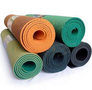 Wholesale rubber mat: Non-toxic Durable Rubber Yoga Mat Factory in China