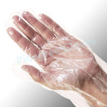 Wholesale cleaning gloves: Clear Disposable PE Gloves Used for Clean/Food
