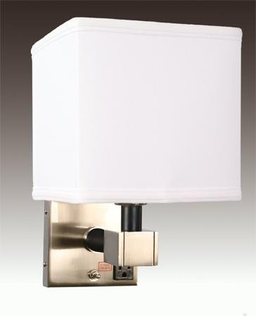 Wall Lamps With Outlets : Hotel Motel Guestroom Wall Lamps with Outlets(id:3061375) Product details - View Hotel Motel ...