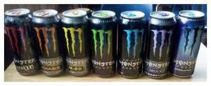 Wholesale monster energy drinks: Monster Energy Drinks Varying Flavours Available
