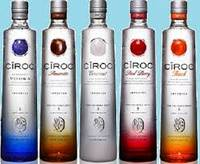 Ciroc Pineapple, Peach, Red Berry, Coconut and Amarette Flavours