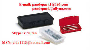 Wholesale tool box/package: UniBox for Set of 3 Hand Taps/Screw Tap Plastic Box/Package/Tool Box/Pack