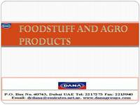 Foodstuff and Agro-Products