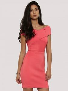 Wholesale garment bag: Dress- Bodycon Offshoulder    2130
