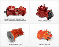 Hydarulic Main Pump Parts and Main Control Valve
