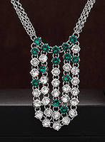 Sell Korean Fashion Jewelry Necklace (5016-03-NE)