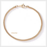 14K GOLD FILLED BOLRERO Bracelet by PRETTICA KOREA (8450-01-BR)