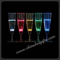 Champagne Glass,Glass Cup,LED Champagne Glass