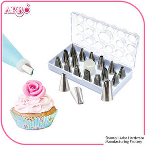 Wholesale Bakeware: FDA Certificated Stainless Steel Pastry Decorating Tip and Cake Icing Nozzles for Baking Tools