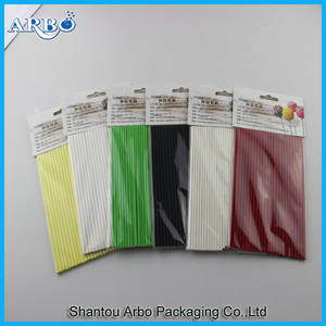 Wholesale candy packing bag: FDA Approved Paper Stick for Baking Paper Stick for Lollipop