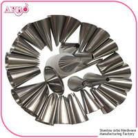 FDA Certificated 16-head Stainless Steel Pastry Tips for Cake Decoration Icing Nozzle
