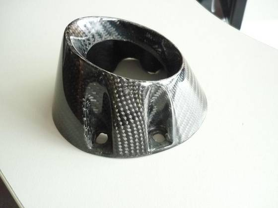 Carbon fiber end cap from bestwill composite inc china
